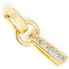 Swarovski R/s Bail 37mm Gold/ Crystal